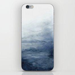 Indigo Abstract Painting   No.2 iPhone Skin
