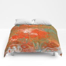 As Luck Would Have It, Abstract Art Comforters