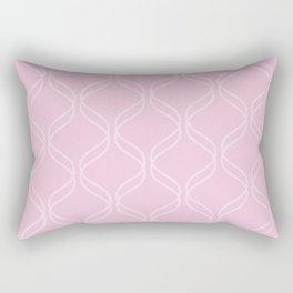 Double Helix - Light Pinks #303 Rectangular Pillow