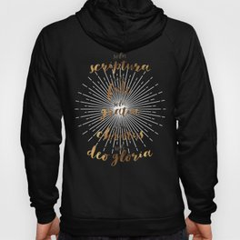 The Five Solas of the Reformation Hoody