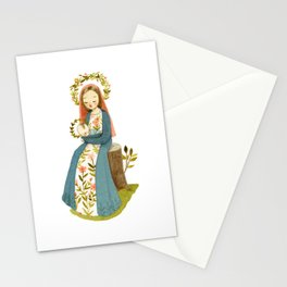Our Lady of the Woods Stationery Cards