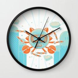 Siva Crab Wall Clock