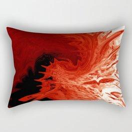 Entering Hell Rectangular Pillow