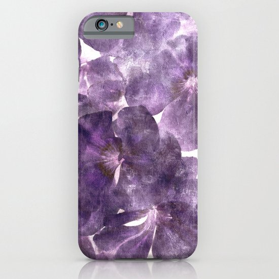Purple Blossoming iPhone & iPod Case