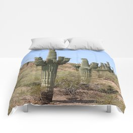 A Cacti in the Desert Comforters
