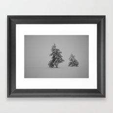 Time Frozen Framed Art Print