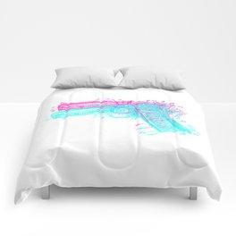 Gun Diagram Comforters