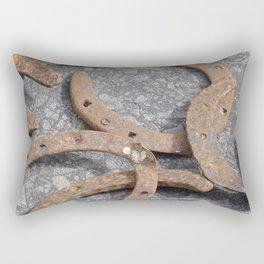 Rusty luck Rectangular Pillow