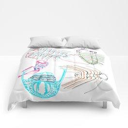 Ordovician Era Trilobites Comforters