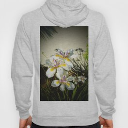 African White Iris DPGP160719a Hoody
