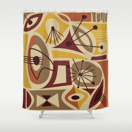 Timanfaya Shower Curtain