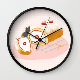 Strawberry Shortcake Wall Clock