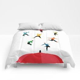 It's Raining Men Comforters