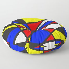 Primary Color Shatter Floor Pillow