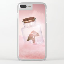 Saving Nature II Clear iPhone Case