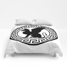 Griffin in Greca Comforters