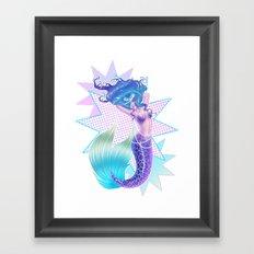 Mermaid POP Framed Art Print