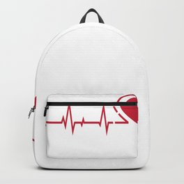 Nursing Medical Heart Beats Nurse Docter Special Nurse Gift Backpack
