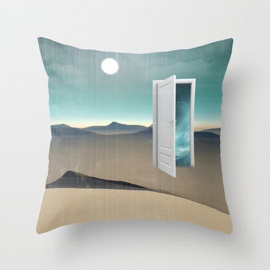 door to a void Throw Pillow