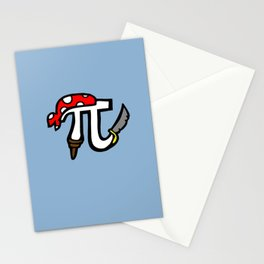 Pi Pirate Stationery Cards