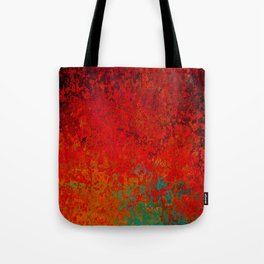 Figuratively Speaking, Abstract Art Tote Bag