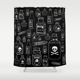 Poison Shower Curtain