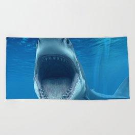 megalodon Beach Towel
