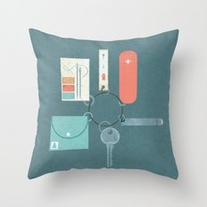 Prepared Throw Pillow