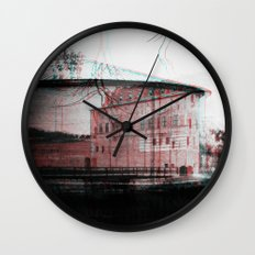 by the shore Wall Clock