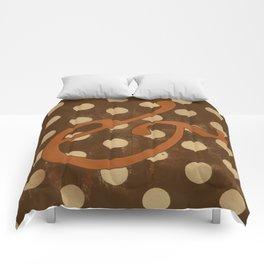 Garamond Italic Ampersand Comforters