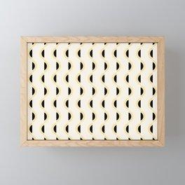 Gwynne Pattern - Canary Framed Mini Art Print