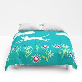 Spring Frolic Comforters