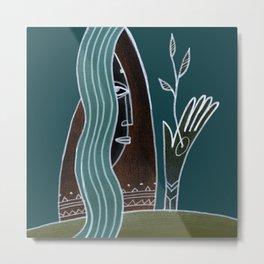 Mother Nature Art Metal Print