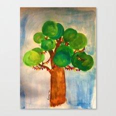 Watercolour: Celebrate Canvas Print