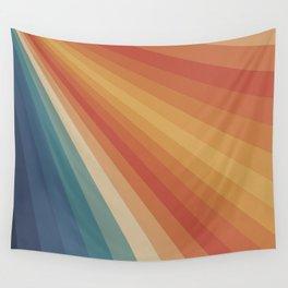 Retro 70s Sunrays Wall Tapestry