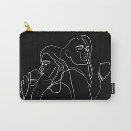 drinking wine, feeling fine Carry-All Pouch