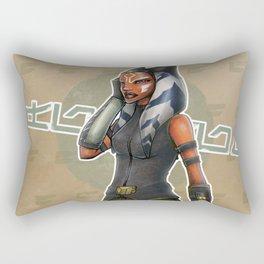 Ahsoka Tano #001 Rectangular Pillow