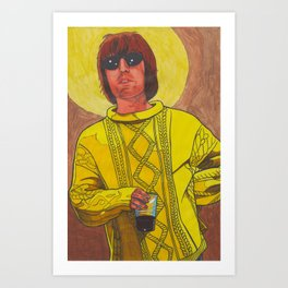 Knebworth Liam Art Print