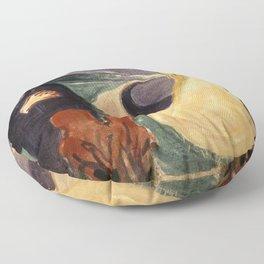 Edvard Munch - Separation Floor Pillow