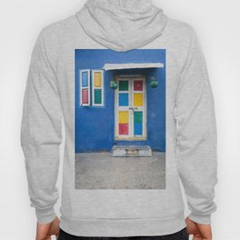 Colorful Indian Door Hoody