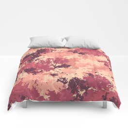 Flamingo camo Comforters