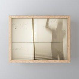 Game of Shadows Framed Mini Art Print