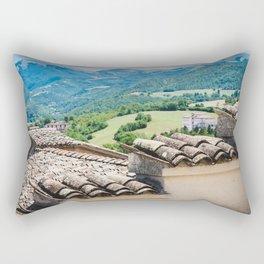 Umbrian landscapes Rectangular Pillow
