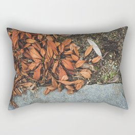 The Earth we're standing on. Rectangular Pillow