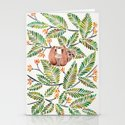 Happy Sloth – Tropical Green Rainforest by catcoq