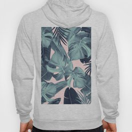 Tropical Summer Jungle Leaves Dream #3 #tropical #decor #art #society6 Hoody