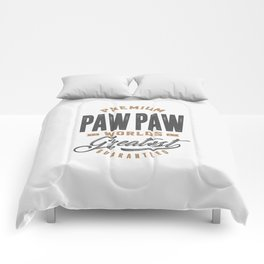 Gift for PawPaw Comforters