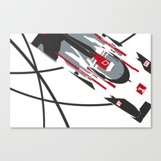 e-tron Canvas Print