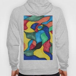 Stained Glass Eye Hoody