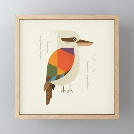 Laughing Kookaburra Framed Mini Art Print